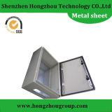 Recinto de la fabricación de metal de hoja para los rectángulos de la corriente eléctrica