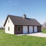 Casa de aço Pre-Projetada da exploração agrícola com certificação do Ce