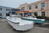 Barca del blu marino del crogiolo di Panga del peschereccio della vetroresina di Liya 7.6m
