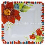 Placa de jantar quadrada da melamina (PT3489)