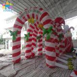 膨脹可能なクリスマスのキャンディ・ケーン