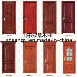 Portes en bois d'entrée de chambre à coucher de salle de séjour