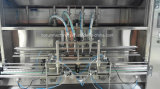Tipo linear máquina de rellenar de 4 pistas del petróleo