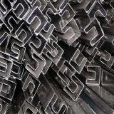 Section creuse en acier soudée par forme de P pour faire la structure