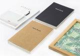 Bunter Notizblock mit Papiertasche und elastisches Band-Notizblock