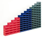 Vários escaninhos de armazenamento, escaninhos Stackable plásticos da caixa da peça do armazenamento (Pk002)