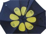 كبير الحجم مزدوج الطبقات لعبة غولف مظلة (GU017)