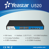 Customizable FXO, FXS, Bri, GSM 및 UMTS Modules VoIP Hybrid PBX