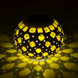 Änderndes Mosaik-Glas-Solarlicht für Patio-Tisch färben