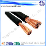 Rubber macio Sheath Electric Cable para General Use