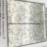Glace décorative de miroir d'antiquité de miroir d'argent d'antiquité de prix bas de qualité