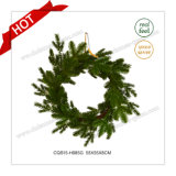 '' grinalda comercial verde plástica sazonal do Natal 22