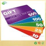 Изготовленный на заказ пластичная карточка с штемпелевать фольги (CKT-PC-015)
