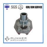 O CNC profissional parte as peças de alumínio do metal que fazem à máquina as peças fazendo à máquina do CNC