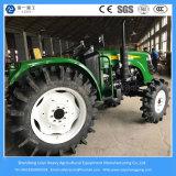 Maquinaria agrícola del tractor de la granja 55HP Jardín / compacto / mini / pequeño / césped 4wheeled el tractor