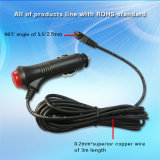 12V/24V Car Extension Wire con Switch inserita/disinserita