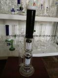 Труба водопровода стекла Pyrex дна зеленого цвета с Perc 8 ''
