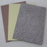 El panel compuesto de aluminio sólido del color PVDF de la buena llanura
