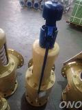가스를 위한 안전 안전 밸브 또는 플랜지를 가진 보일러