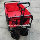 Chariot pliable avec le traitement réglable