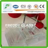 glace ultra claire claire extrême en verre de flotteur en verre de flotteur de 12mm