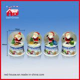 휴일 생일 선물 실내 장식적인 물 공 유리제 눈 공
