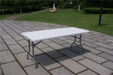 6ft Folding Outdoor Table, Plastic Table, Dinner Table
