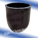 Creuset de fonte haut pur de graphite de palladium de température élevée