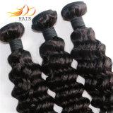 волосы 7A связывают человеческие волосы Remy девственницы глубокой волны бразильские