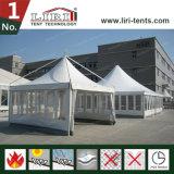 Qualität Gezabo Zelt-hohe Spitze mit Belüftung-Fenster-Seitenwänden