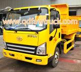 FAW 3-5 tonnes de petit à benne basculante de camion de lumière camion à benne basculante