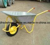Wheelbarrow grande Wb5009 da capacidade do Wheelbarrow colorido