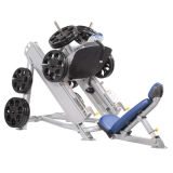 Imprensa linear dobrada do pé da ginástica da grua equipamento excelente (SR1-38)