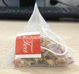 Bolso de té de la pirámide con la empaquetadora del sobre