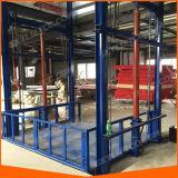 Elevador material do elevador do carregamento da carga do armazém do trilho de guia para a venda