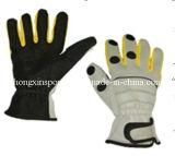 Мягкие водоустойчивые перчатки рыболовства неопрена (HX-G0034)