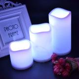 Componente del LED para la vela cambiante del color