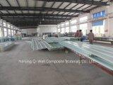 Il tetto ondulato della vetroresina del comitato di FRP/di vetro di fibra riveste W171012 di pannelli