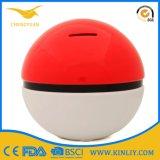 Rectángulo de cerámica Pokemon del ahorro del dinero de batería de moneda de la batería guarra de la colección