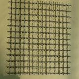 Engranzamento de fio frisado galvanizado na folha