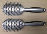 Cepillo de pelo plástico vendedor caliente del respiradero para el salón y el hogar