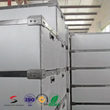 Container accatastabile della casella ondulata di imballaggio di plastica