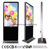 55 réseaux WiFi 3G plein HD de pouce annonçant le kiosque du contact DEL d'étalages