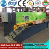 CNC de Scherende Straal reeks-4X4000 van de Schommeling van de Scherpe Machine QC12y van de Machine Hydraulische (k)