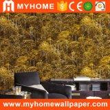 Papier peint en bambou de style nature chinoise pour décoration intérieure