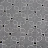 Tissu de broderie de coton pour le vêtement