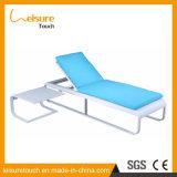 Resistente al clima Mobiliario funcional de exterior Silla reclinable de aluminio