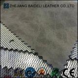 Cuir artificiel d'unité centrale de PVC de modèle de mode pour des chaussures/sacs