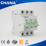 Corta-circuito miniatura MCB de los cortacircuítos industriales 3p