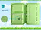 contenitore impaccante piegante di plastica di alimenti a rapida preparazione di rettangolo 900ml